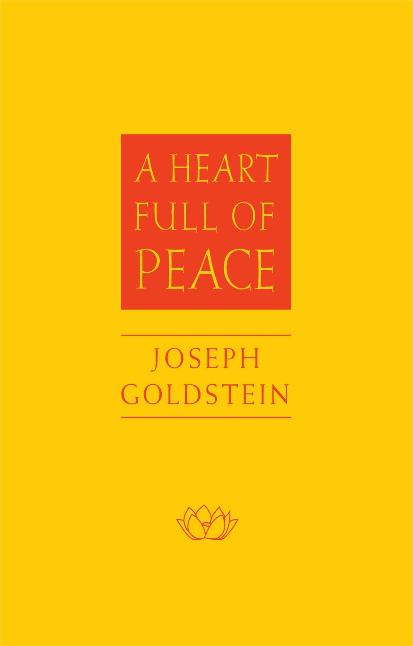 Goldstein Heart Full cover art