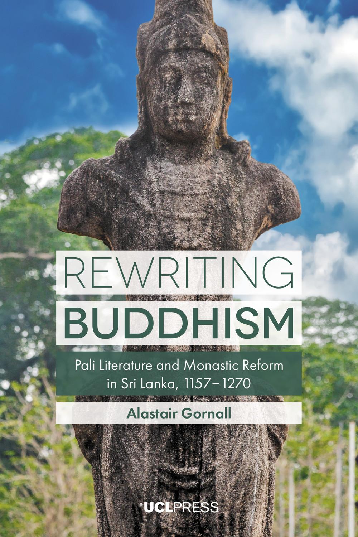 Gornall Rewriting Buddhism cover art