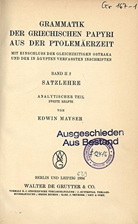Mayser cover