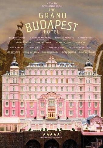 Grand Budapest film cover art