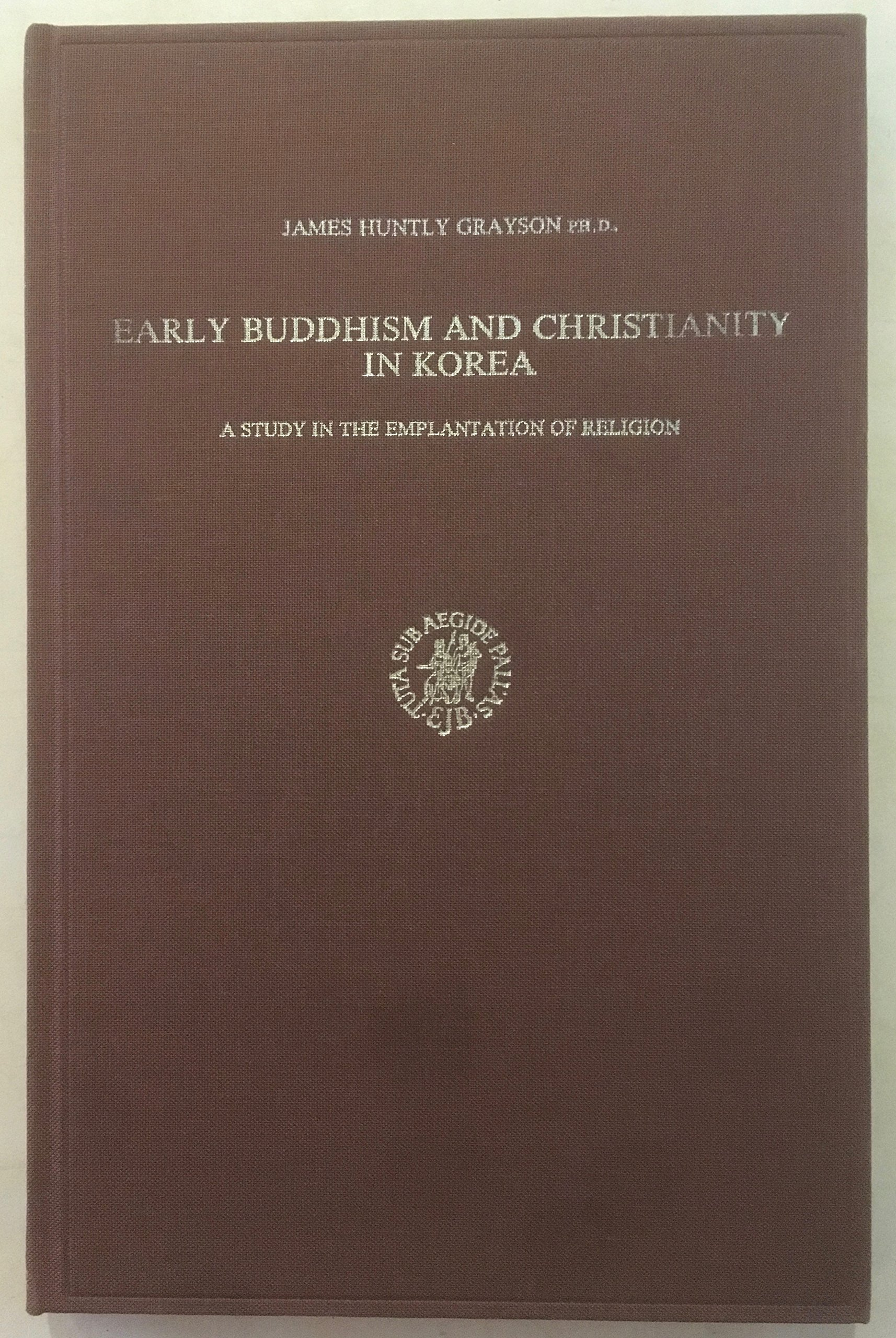 Grayson Early Buddhism and Christianity cover art