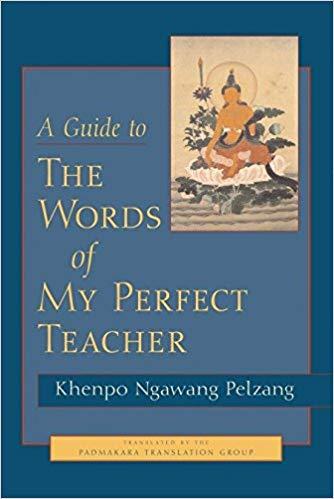 Pelzang Guide to Words cover art