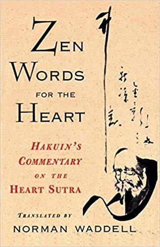Hakuin Zen Words cover art