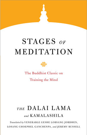 HHDL Stages of Meditation cover art