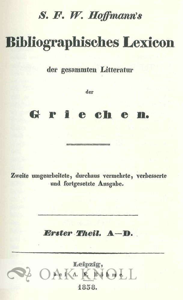 Hoffmann cover
