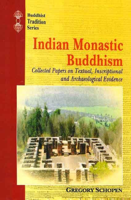 Schopen Indian Monastic cover art