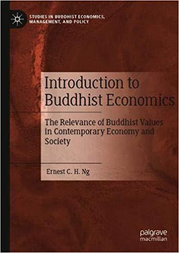 Ng Intro to Buddhist Economics cover art