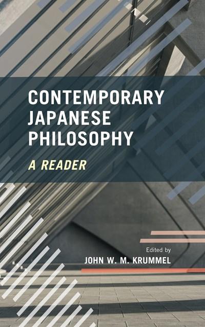 Krummel Contemporary Japanese Philosophy cover art