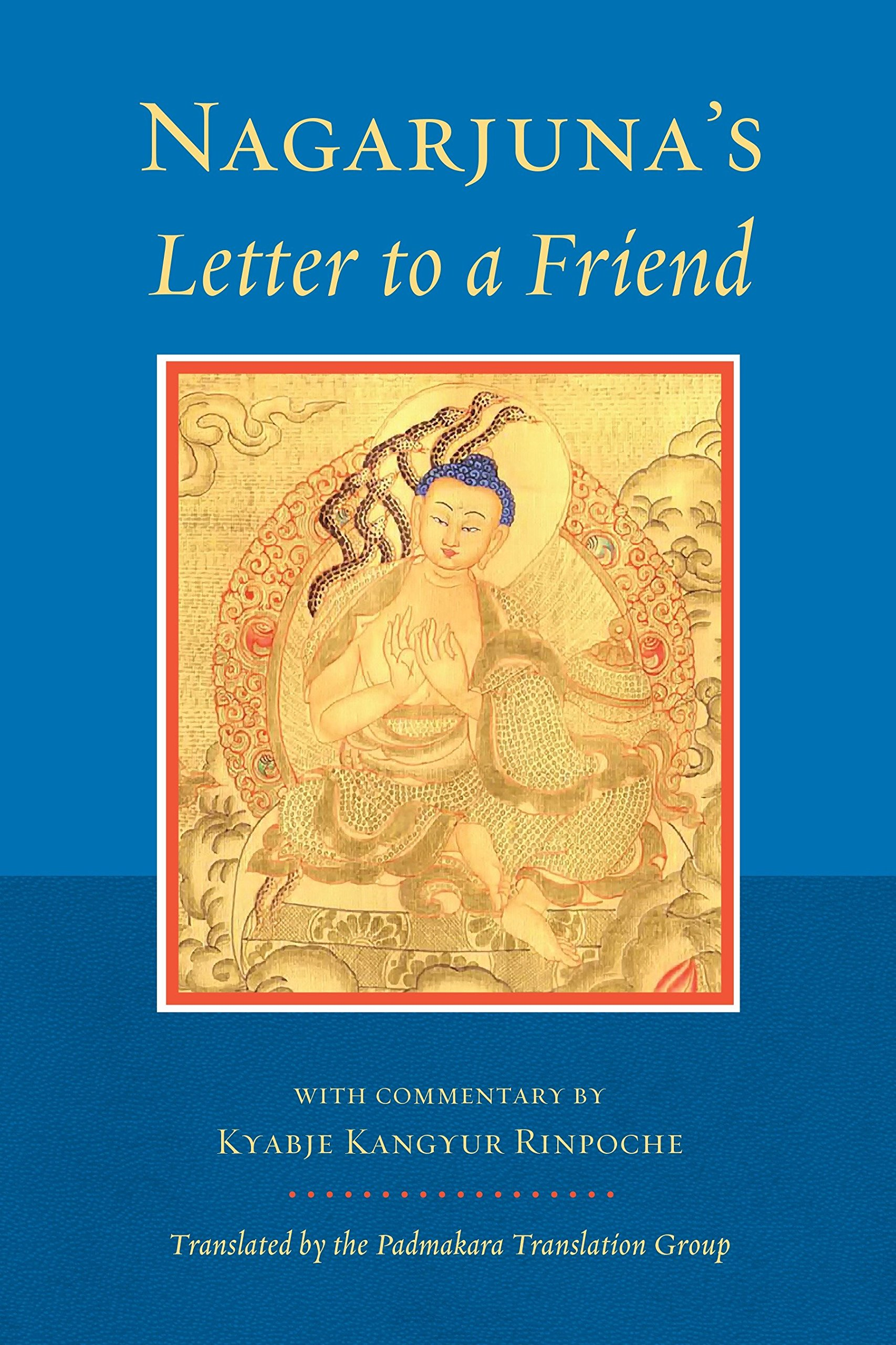 Nagarjuna's Letter cover art