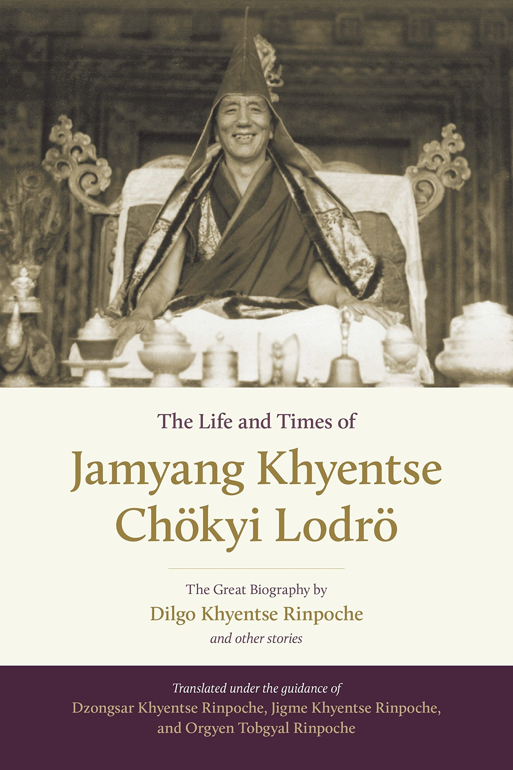 Dilgo Life and Times of Jamyang cover art