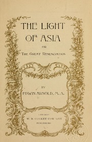Arnold Light of Asia cover art