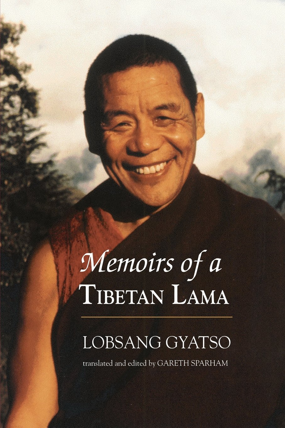 Gyatso Memoirs cover art