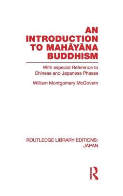McGovern Intro Mahayana cover art