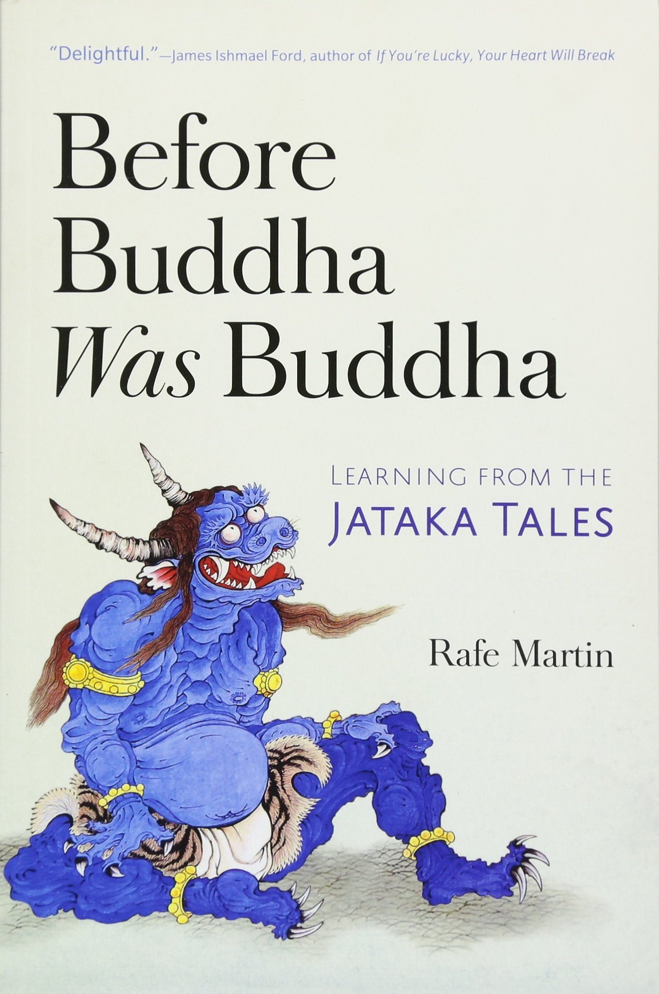 Martin Before Buddha cover art