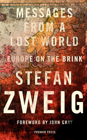 Zweig Messages Lost World cover art