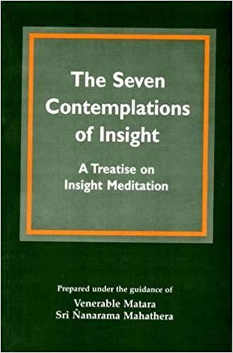 Nanarama Seven Contemplations cover art