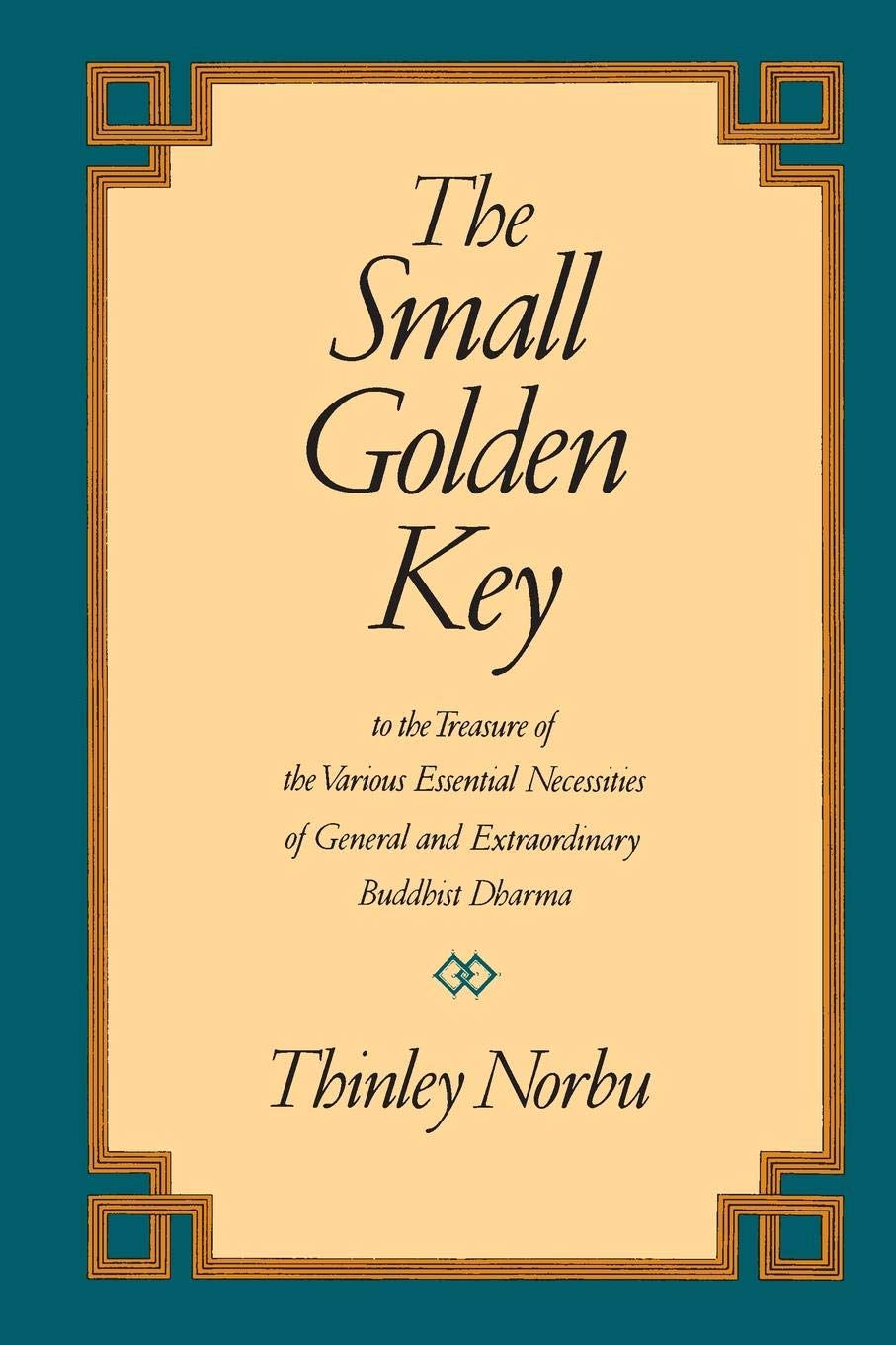 Norbu Golden Key cover art