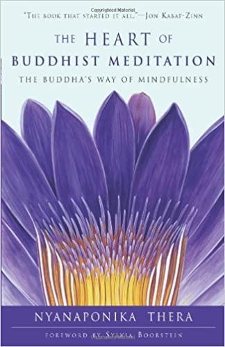 Nyanaponika Heart of Buddhist Meditation cover art
