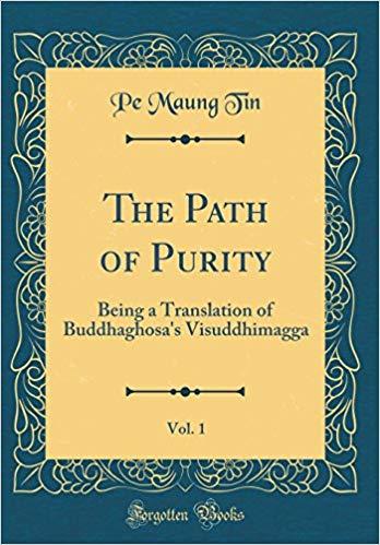 Buddhaghosa Path of Purity Maung Tin cover art