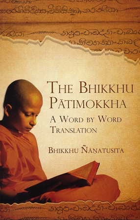 Nyanatusita Bhikkhu Patimokkha cover art
