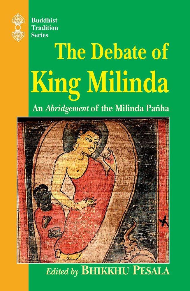 Pesala Debate of King Milinda cover art
