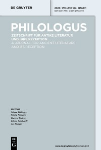 Philologus cover