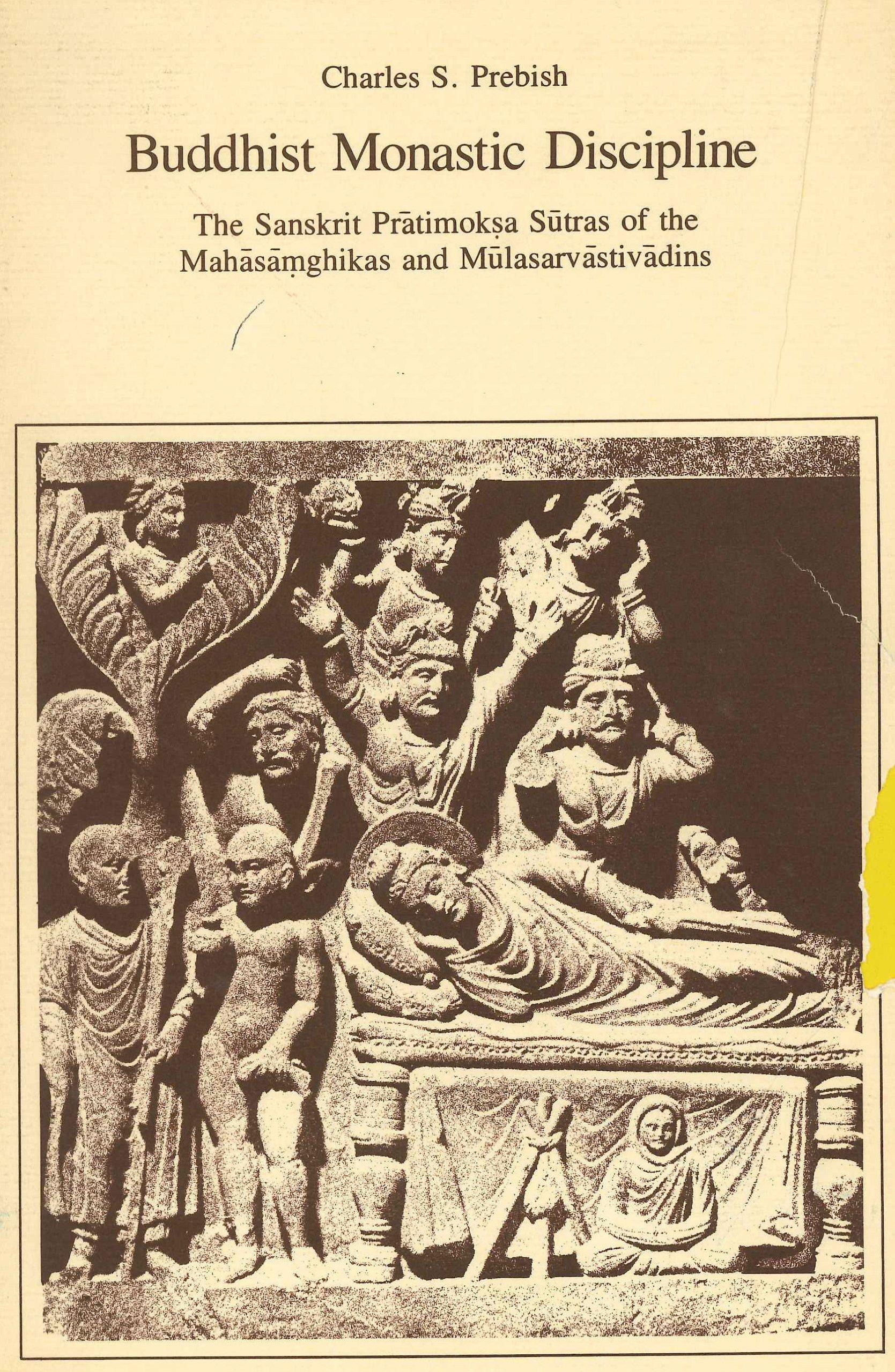 Prebish Buddhist Monastic Discipline cover art