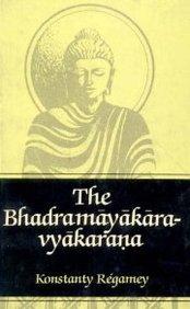 Regamey Bhadramayakaravyakarana cover art