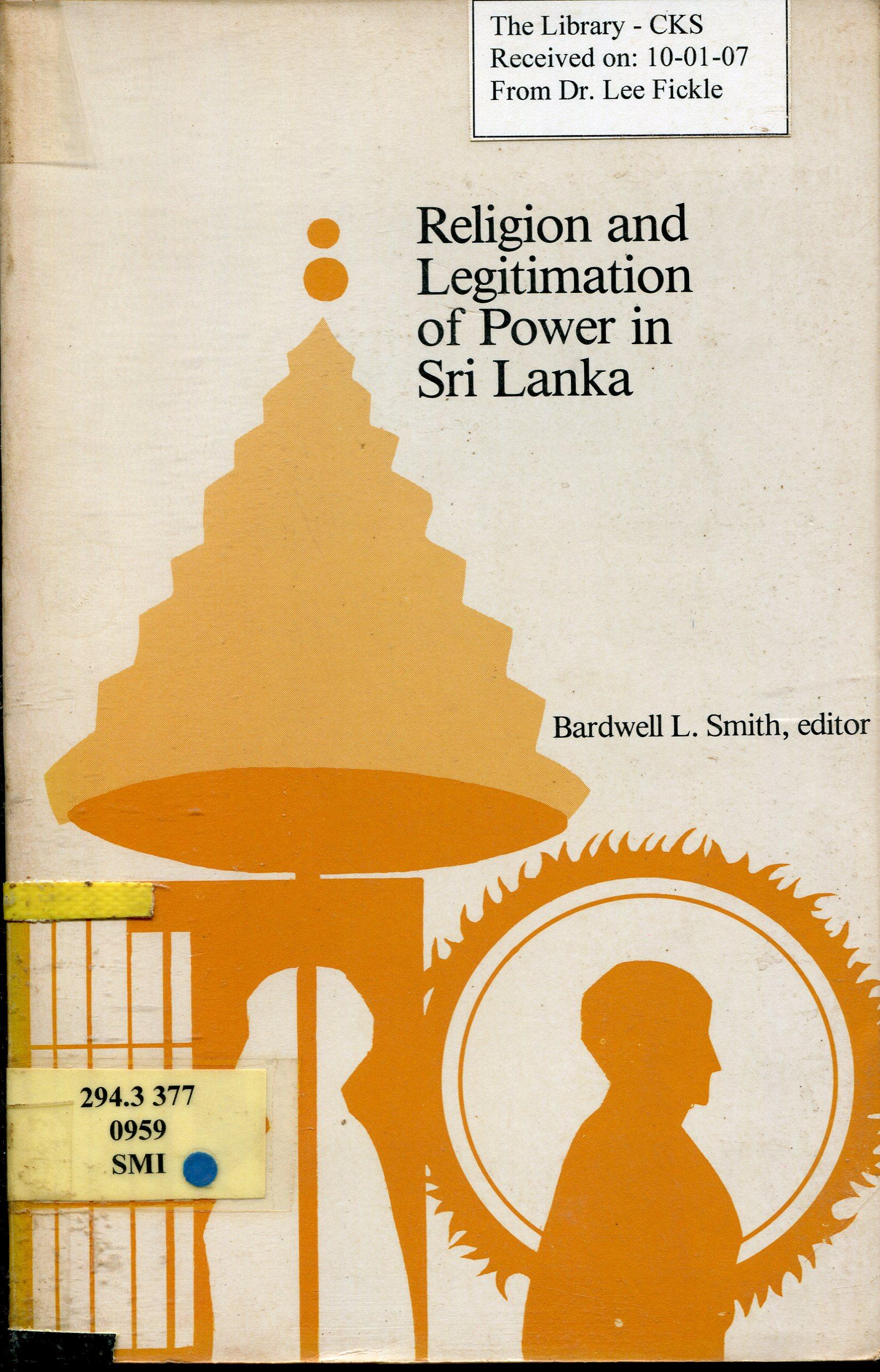 Smith Religion Legitimation cover art
