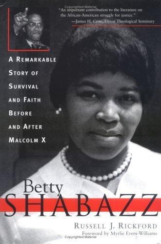 Rickford Betty Shabazz cover art