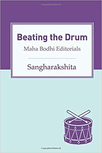 Sangharakshita Beating the Drum cover art