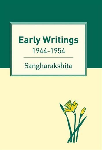 Sangharakshita Early Writings cover art