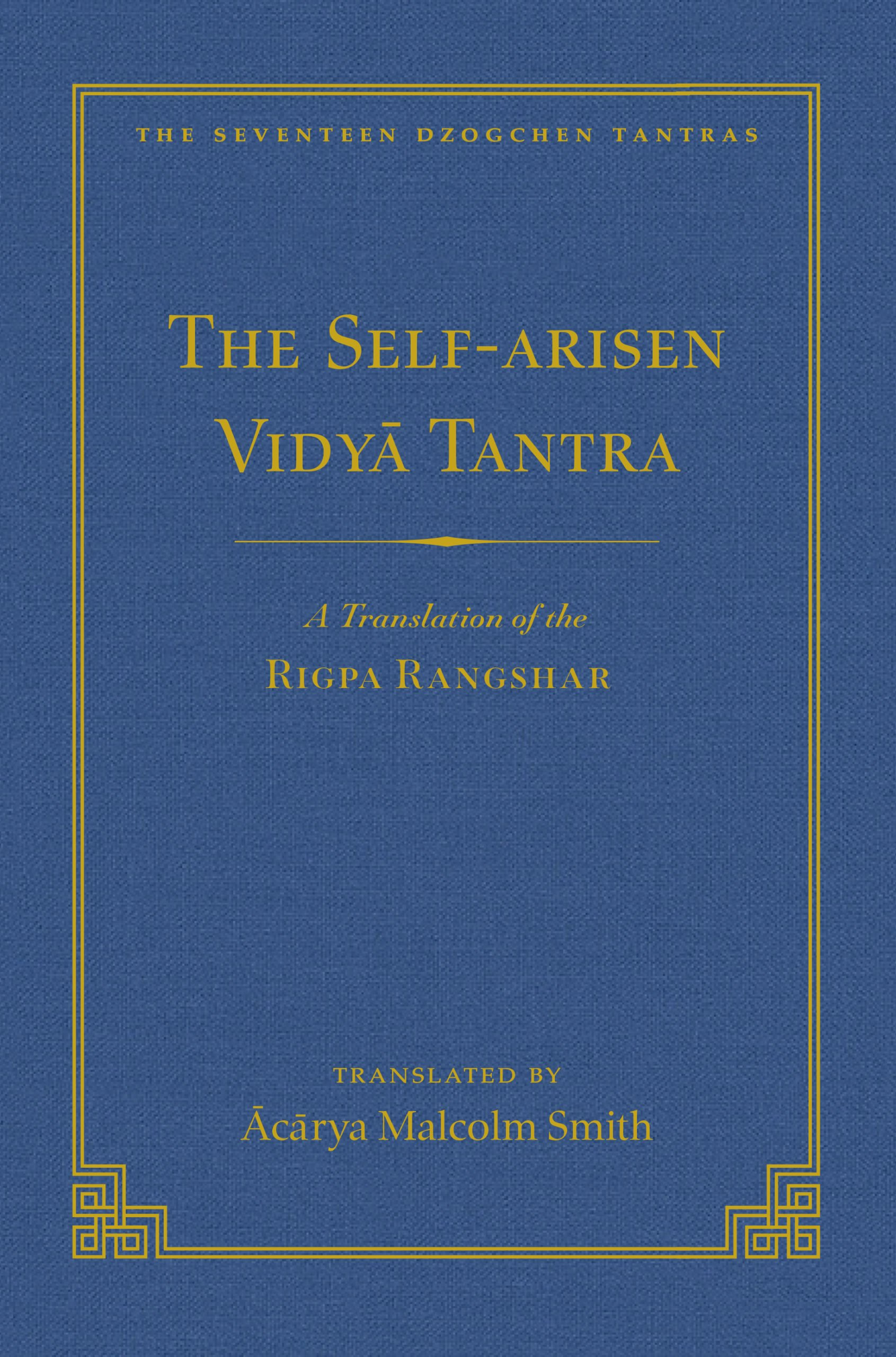 Self-Arisen Vidya Tantra cover art