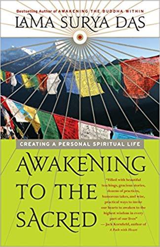Lama Surya Das Awakening Sacred cover art