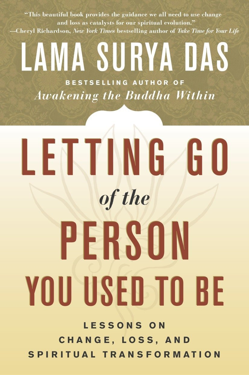 Lama Surya Das Letting Go cover art