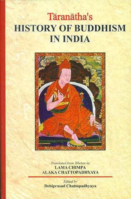 Taranatha's History of Buddhism in India cover art