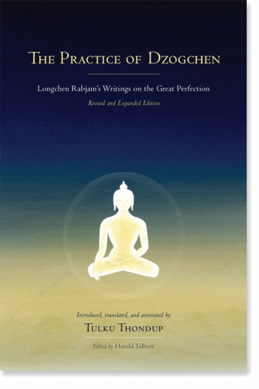 Longchenpa Practice of Dzogchen cover art
