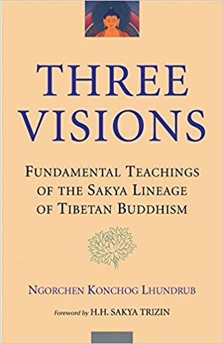 Lhundrub Three Visions cover art