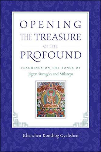 Gyaltshen Opening Treasure cover art