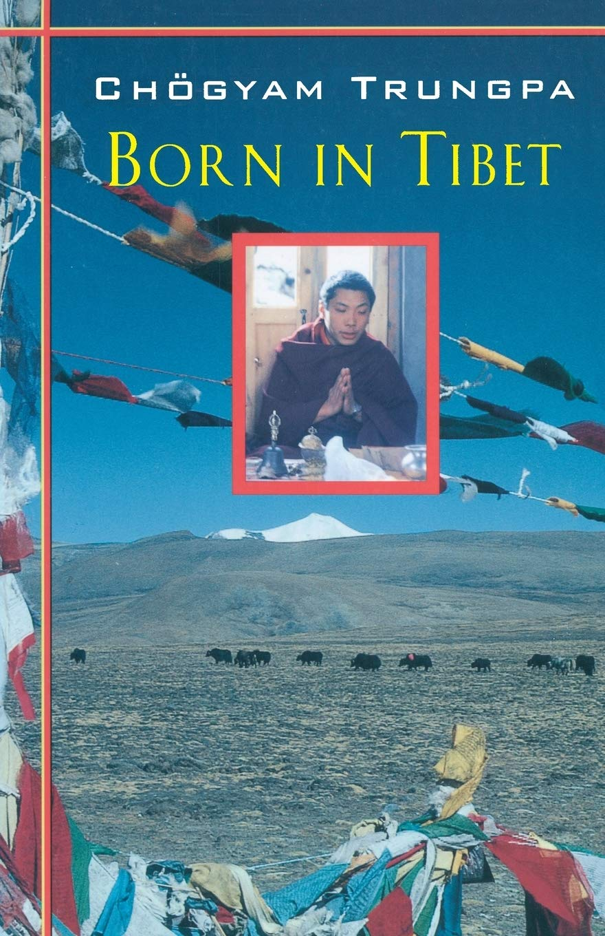 Trungpa Born in Tibet cover art