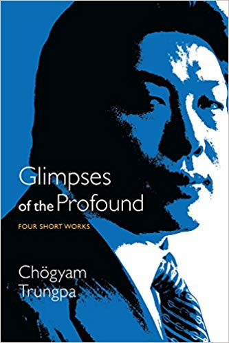 Trungpa Glimpses Profound cover art