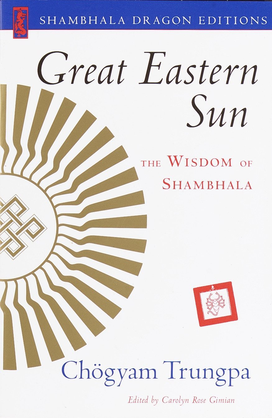 Trungpa Great Eastern Sun cover art