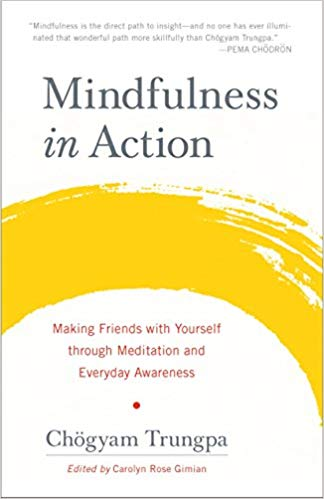 Trungpa Mindfulness in Action cover art
