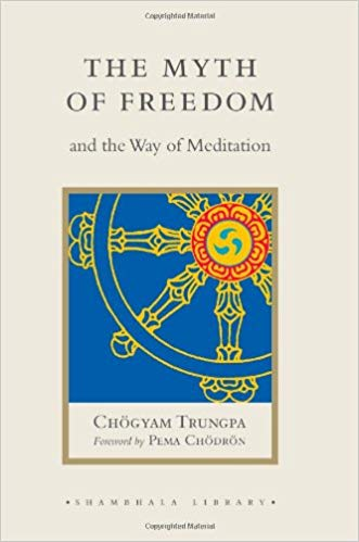 Trungpa Myth of Freedom cover art