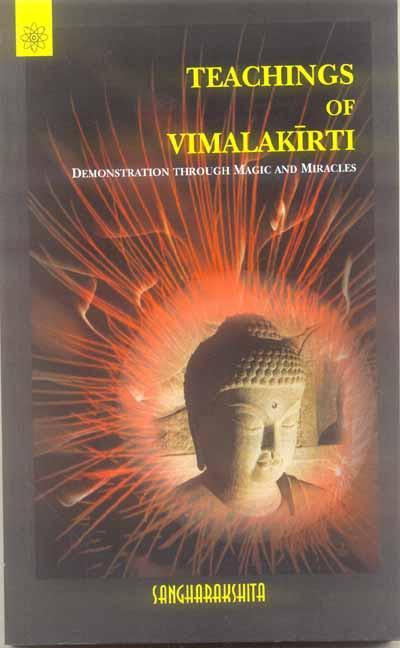 Sangharakshita Vimalakirti cover art