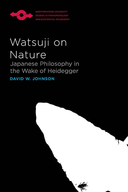 Johnson Watsuji on Nature cover art