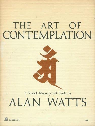 Alan Watts Art of Contemplation cover art