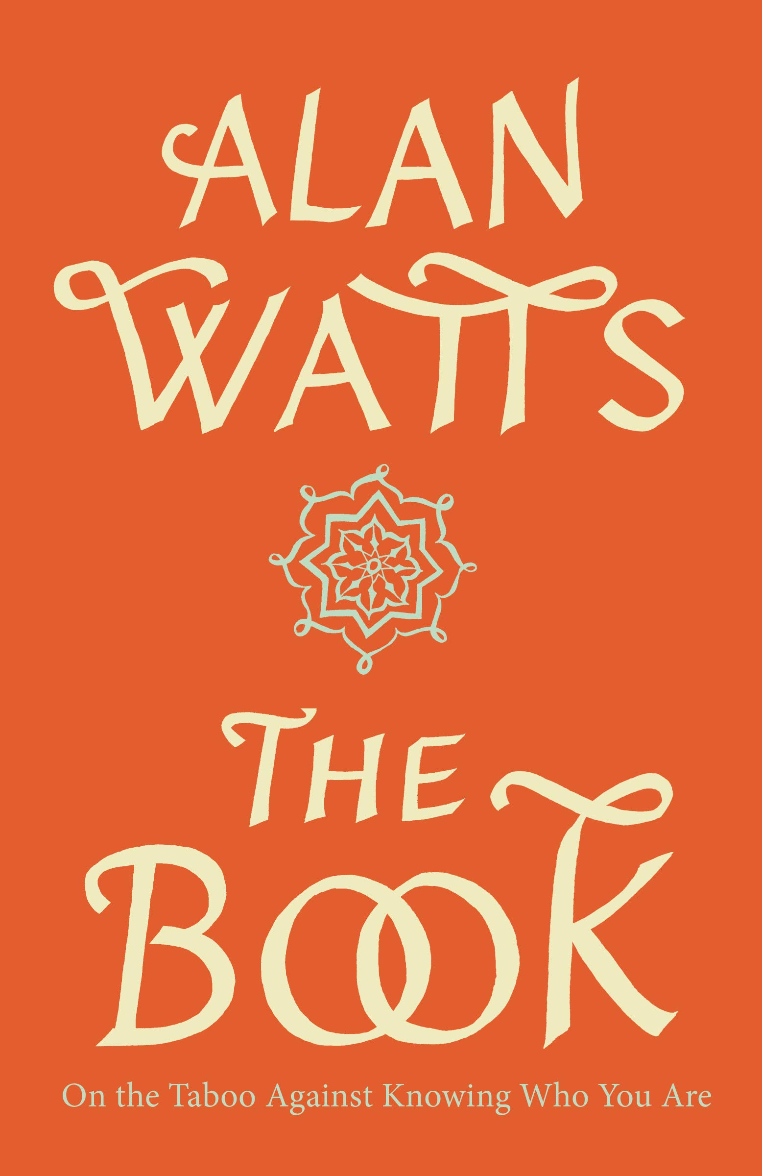 Alan Watts The Book cover art
