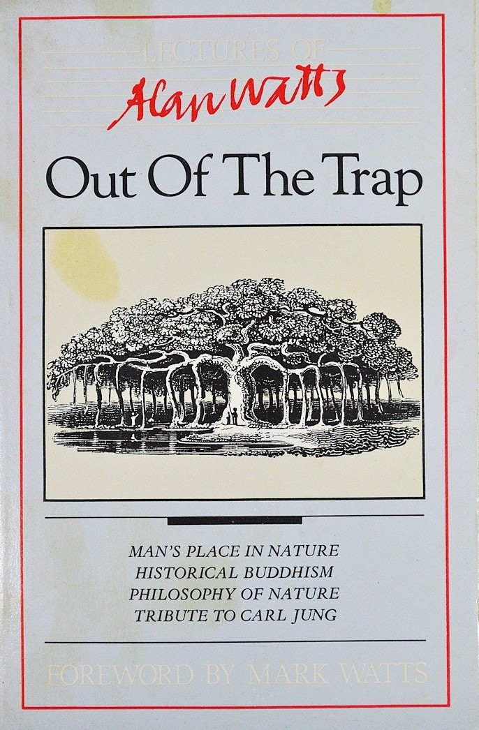 Alan Watts Out of the Trap cover art