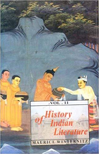 Winternitz History of Indian Literature cover art